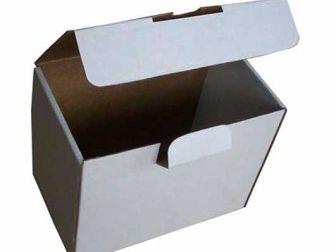 Самосборная коробка «с замком»