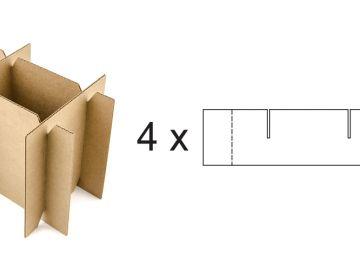 Решетка вертикальная с усиленными углами
