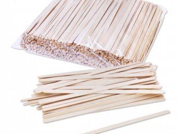 Палочка деревянная для размешивания 18см 1000 шт/уп