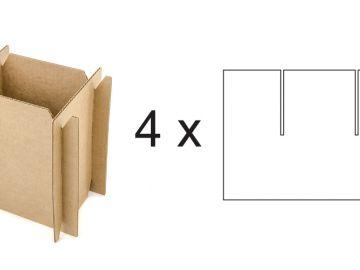 Решетка вертикальная из четырех заготовок