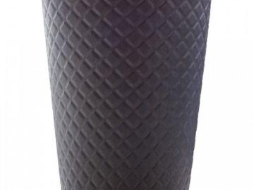 Стакан бумажный двухслойный черный 350 мл