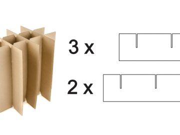Решетка вертикальная из пяти заготовок