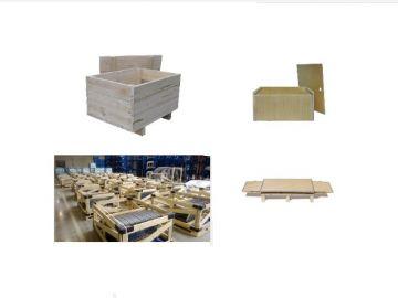 Деревянная упаковка и тара оптом заказать на заводе изготовителе в Москве по оптовым ценам