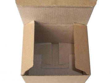 Самосборная коробка «Ласточкин хвост» (в каталоге Fefco № 0215)