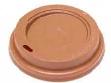 Крышка коричневая для бумажного стакана 350мл, d= 90мм
